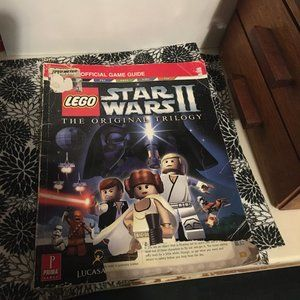 Lego Official Game Guide Stare Wars ll $8 FIRM